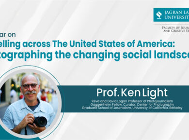 Prof.Ken Light Talks About 'Photographing the Social Landscape of USA'