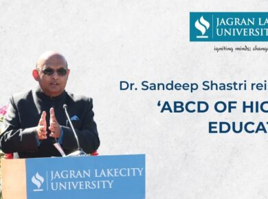 Vice Chancellor, Dr. Sandeep Shastri Reinvents 'ABCD of Higher Education'