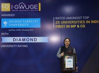 The DIAMOND of MP-CG: JAGRAN LAKECITY UNIVERSITY